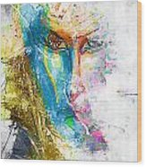 Abs 0063 Wood Print