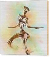 Abs 0099 Wood Print