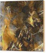 Abs 0267 Wood Print