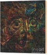 Abs 0364 Wood Print