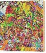 Abs 0385 Wood Print