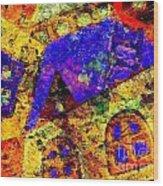 Abs 0435 Wood Print