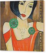 Women 447 - Marucii Wood Print
