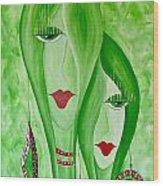 Abs 0451 Wood Print