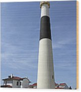 Absecon Lighthouse Atlantic City New Jersey Wood Print