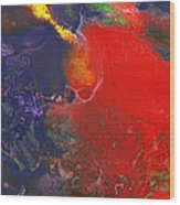 Abstract - Crayon - Andromeda Wood Print