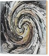 Abstract - Turmoil Wood Print by Gerlinde Keating - Galleria GK Keating Associates Inc