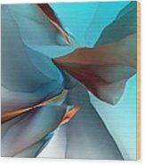 Abstract 011612 Wood Print