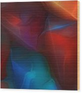 Abstract 012712 Wood Print