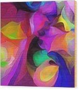 Abstract 041412 Wood Print