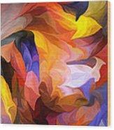 Abstract 050312 Wood Print