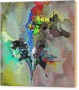 Abstract 082412-1 Wood Print
