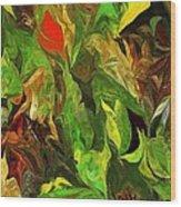 Abstract 090512a Wood Print