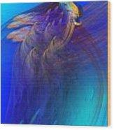 Abstract 090711 Wood Print