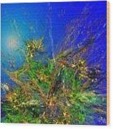 Abstract 090811 Wood Print