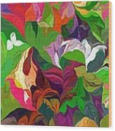 Abstract 090912 Wood Print