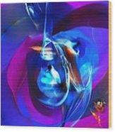 Abstract 092612 Wood Print