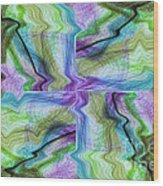 Abstract 10 Wood Print