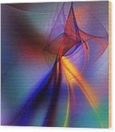 Abstract 101211 Wood Print
