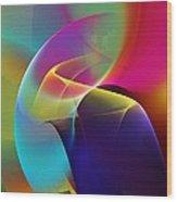 Abstract 102511 Wood Print