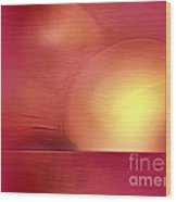 Abstract 11 Wood Print