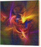 Abstract 112811b Wood Print