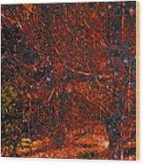 Abstract 125 Wood Print