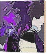 Abstract 190 Wood Print