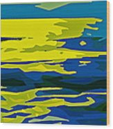 Abstract 205 Wood Print