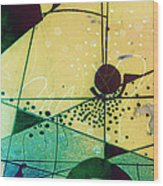 Abstract 209 Wood Print