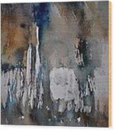 Abstract 213030 Wood Print