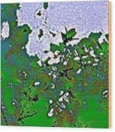 Abstract 218 Wood Print