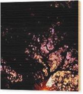 Abstract 223 Wood Print