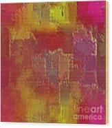 Abstract 258 Wood Print