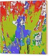 Abstract 260 Wood Print