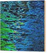 Abstract 265 Wood Print