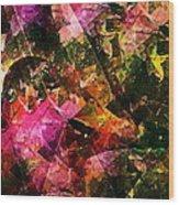 Abstract 270 Wood Print