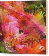 Abstract 273 Wood Print