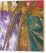 Abstract 3085 Wood Print