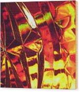 Abstract 3088 Wood Print