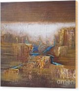 Abstract-36 Wood Print
