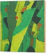 Abstract 582 Wood Print
