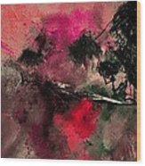 Abstract 69210102 Wood Print