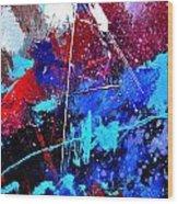 Abstract 71001 Wood Print