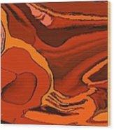 Abstract 756 Wood Print