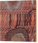 Abstract 769 Wood Print