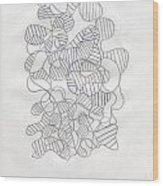 Abstract 77 Wood Print