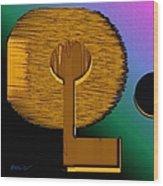 Abstract 810 Wood Print