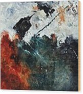 Abstract 881101 Wood Print