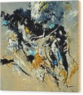Abstract 8821011 Wood Print